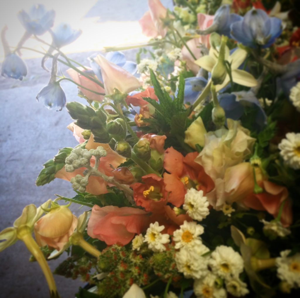 Summer bouquet photo by Kelly Brown