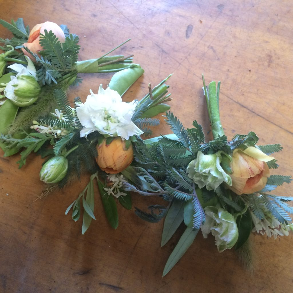 Corsages photo by Kelly Brown