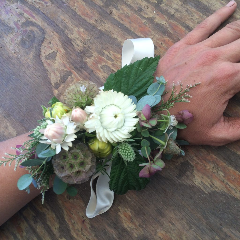Wrist corsage photo by Kelly Brown