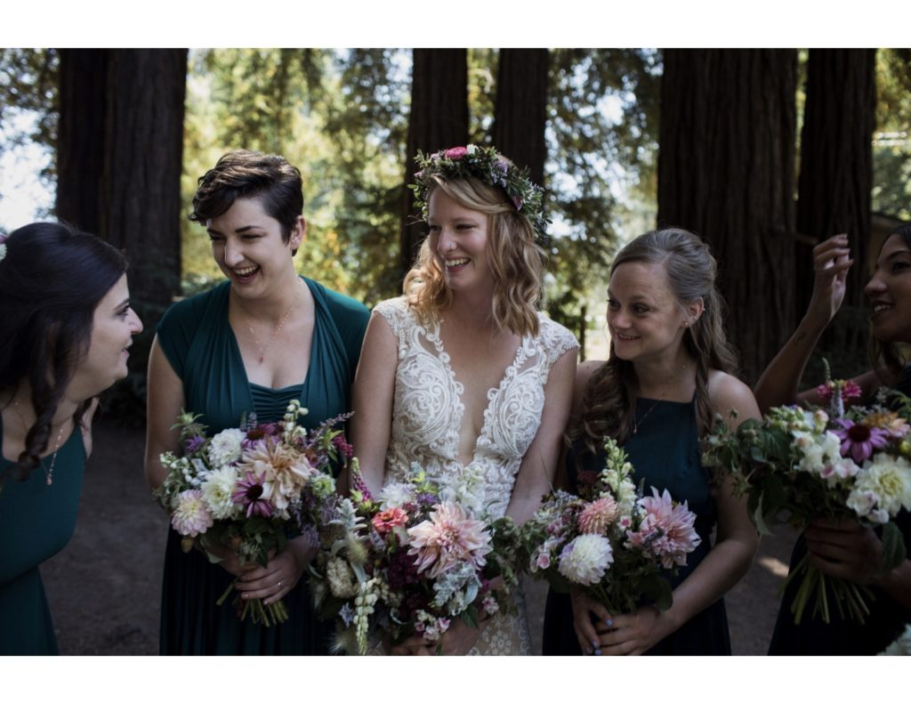 Breanne and her gals photo by Celeste Noche Photography and tag @extracelestial
